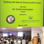 Addressing Man-Animal Conflict Issues for the Geer Foundation, Gujarat Forst Department